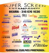 Logos Ocaña Super Screen Estampados