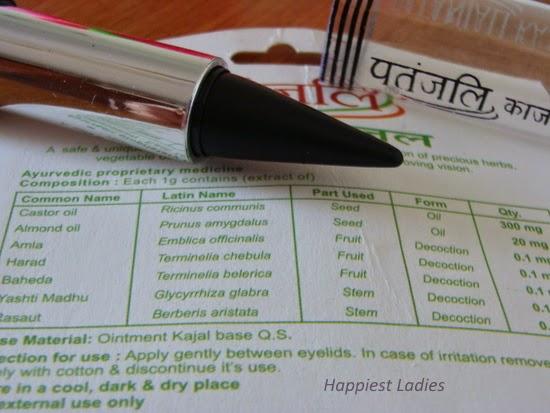 Patanjali Herbal Kajal Ingredients
