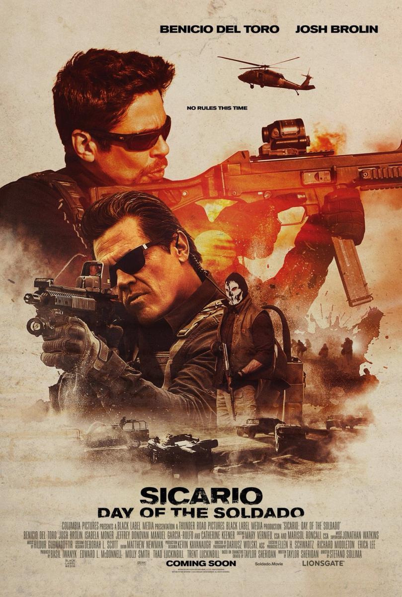 Sicario 2 El Día del soldado 2018 Amazon VOSE x264 720 GD