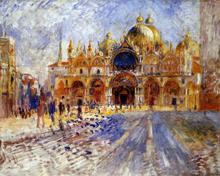 Art Now and Then: Basilica di San Marco, Venice