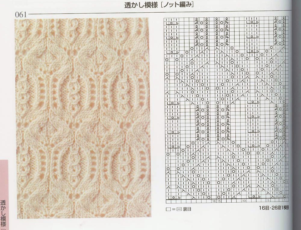 Japanese Knitting Patterns Free : Handmade beauty by Elvi: Japanese ajour (free knitting pattern)