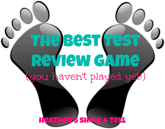 Heather's Show and Tell: Stinky Feet Test Prep and Review  Stinky