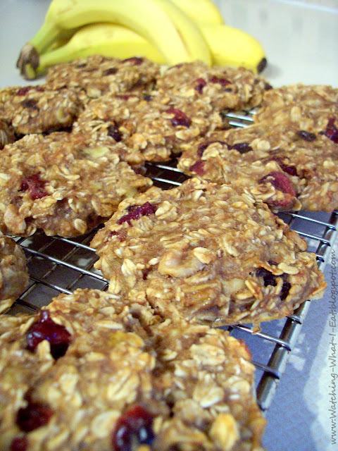 Watching What I Eat: Banana Oat Breakfast Cookies