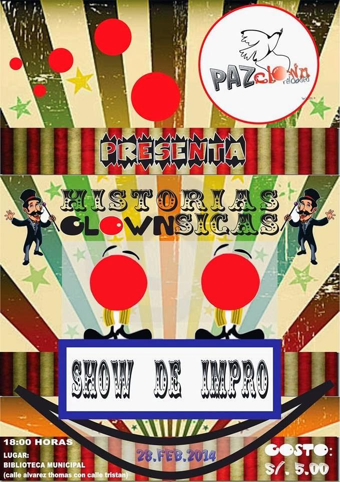 """Show de Impro """"Historias Clownsicas"""" - 28 Febrero"""