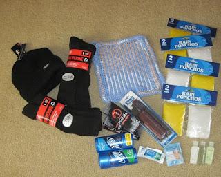 misc items for homeless