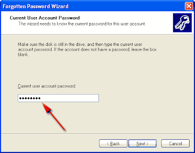 lupa password windows