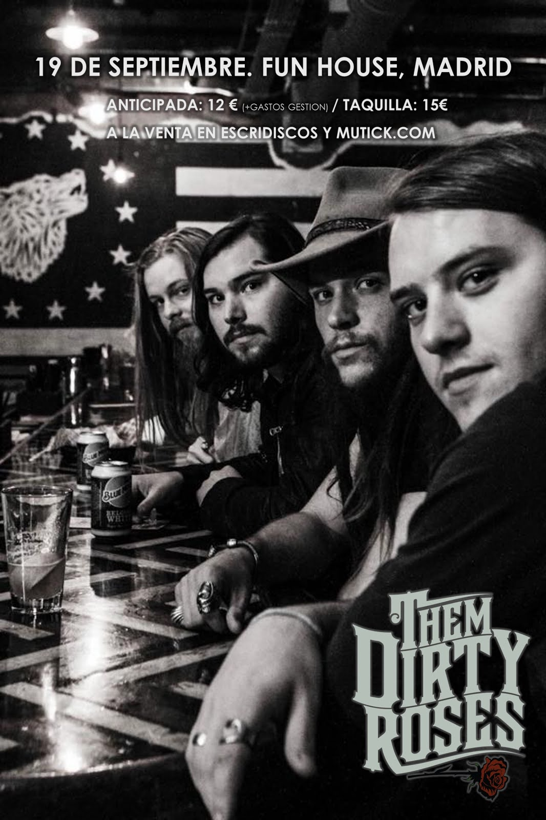 Them Dirty Roses - Fun House (Madrid) - 19/09/2019