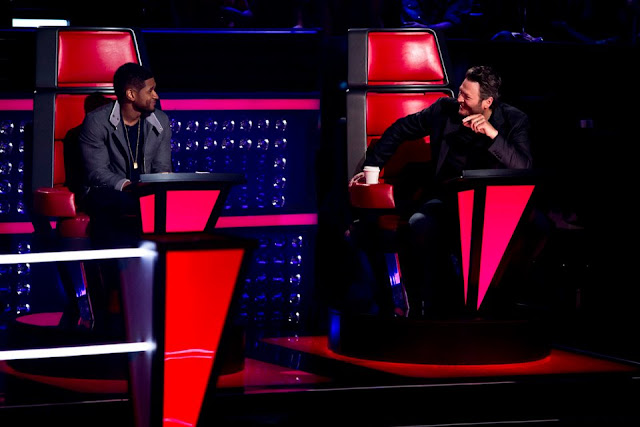 Team Blake and Team Usher on The Voice Season 4