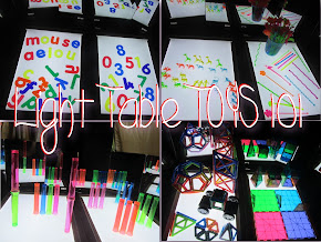 Light Table Toys 101