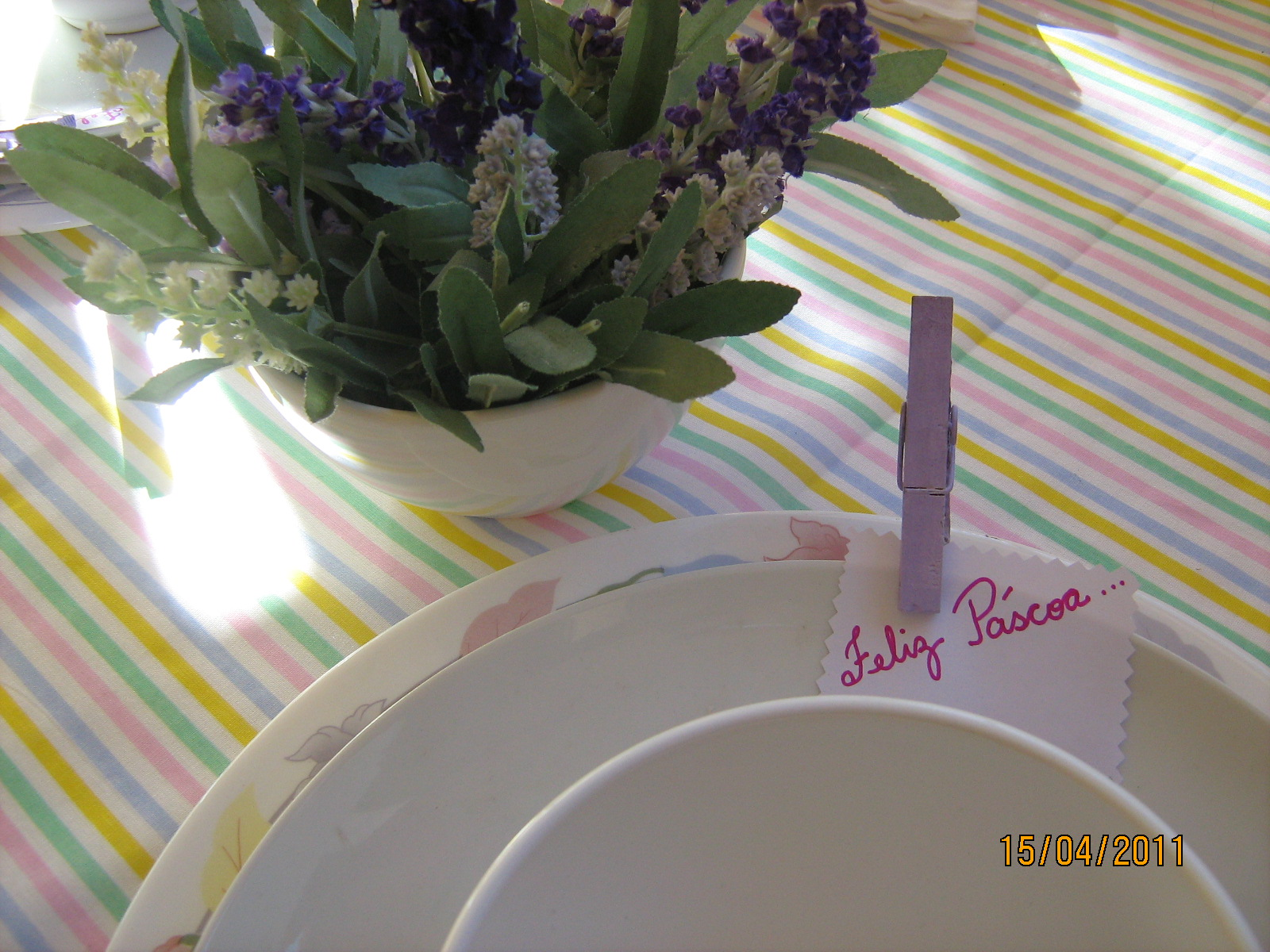 Ideias para decoração de páscoa