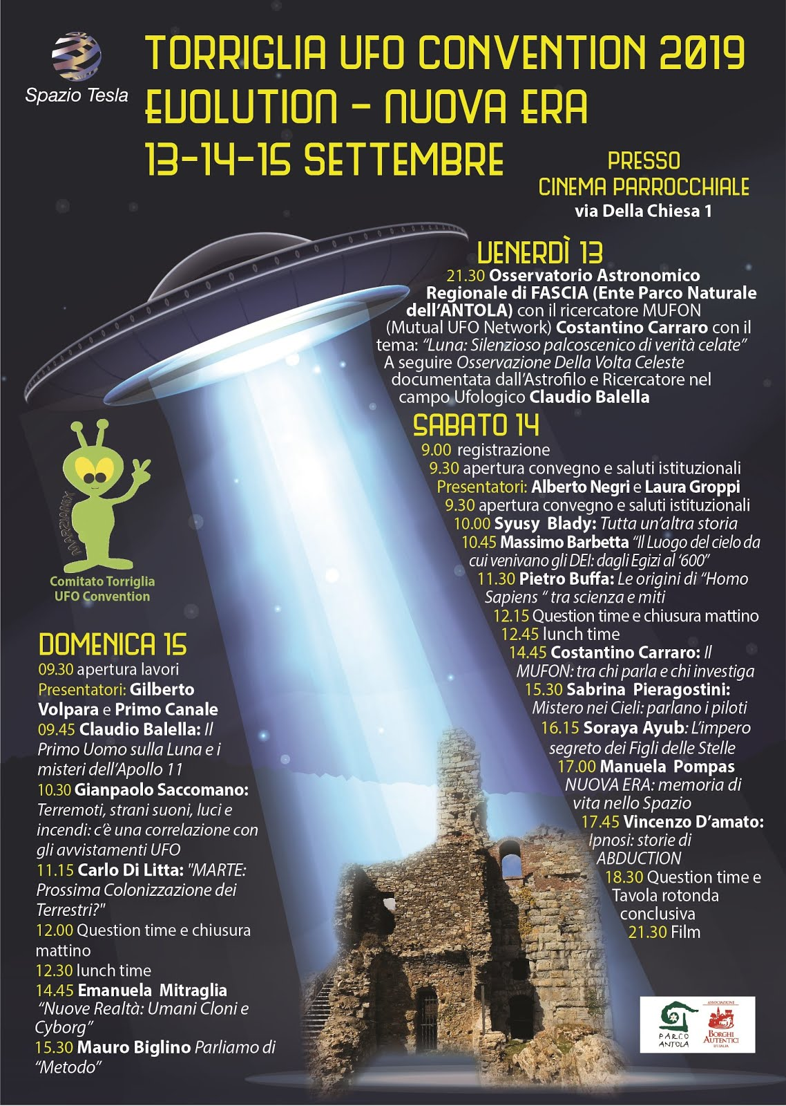 TORRIGLIA UFO CONVENTION 2019