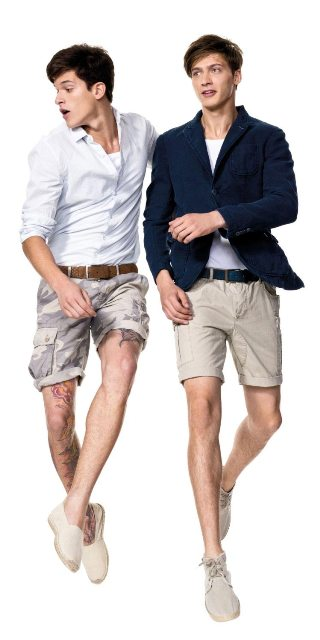 Benetton shorts for men-1
