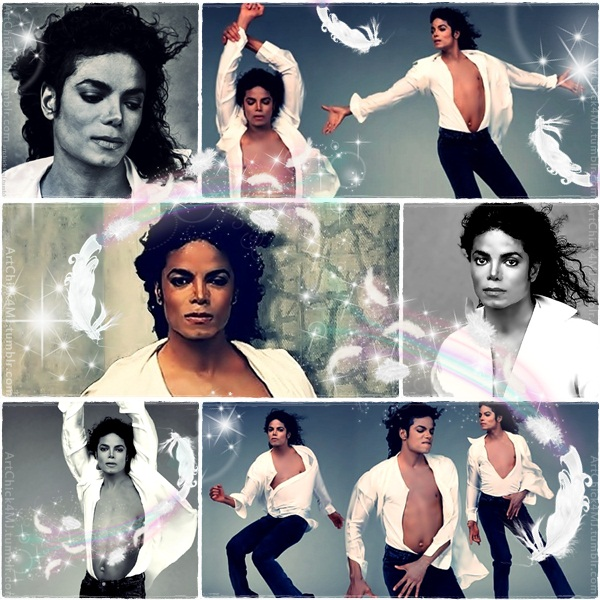 Happy Birthday Michael Jackson Art