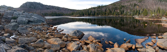 Tumbledown Pond in Maine