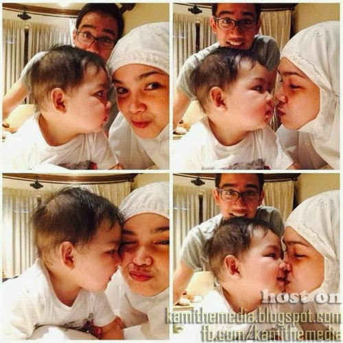 Gambar Dato Siti Nurhaliza Bersama Cucunya Ayden
