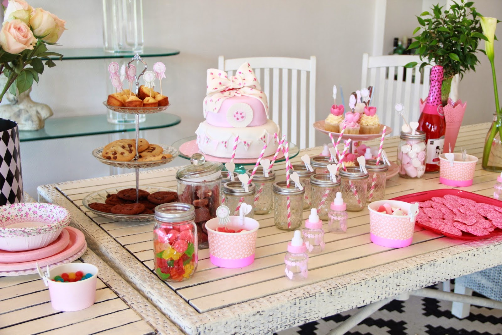 When shabby loves chic ma baby shower surprise - Organiser baby shower ...