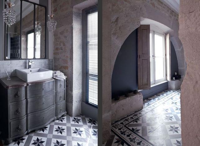 southern tiles zementfliesen von carodeco. Black Bedroom Furniture Sets. Home Design Ideas