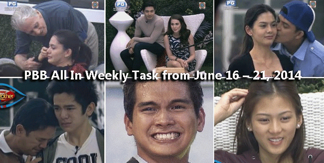 PBB All In Weekly Task from June 16 – 21, 2014