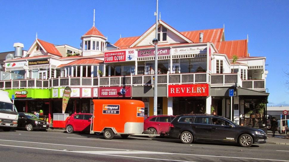 Ponsonby, quartier résidentiel chic à Auckland
