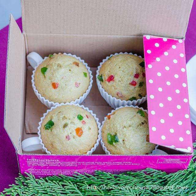 Herbivore Cucina Tutti Frutti Cupcakes