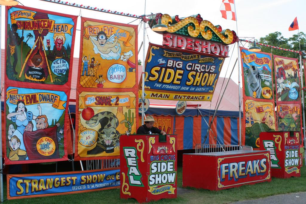 Circus Sideshow Coney Island