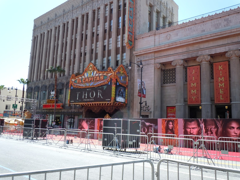 Thor Hollywood premiere behind-the-scenes