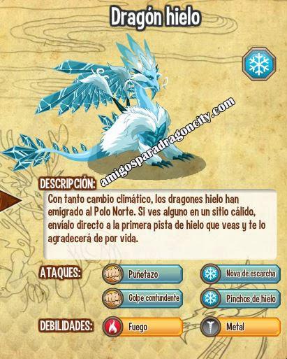 imagen de las caracteristicas del dragon hielo