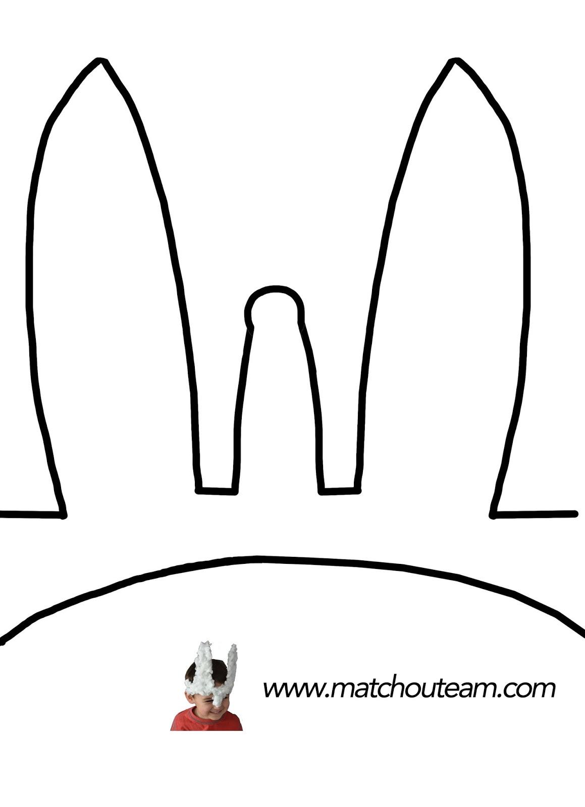 oreille de lapin masque