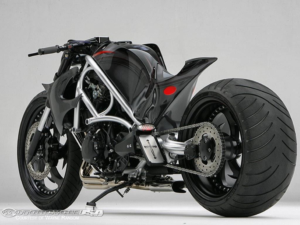 motos modelo de motocicleta con llantas pisteras
