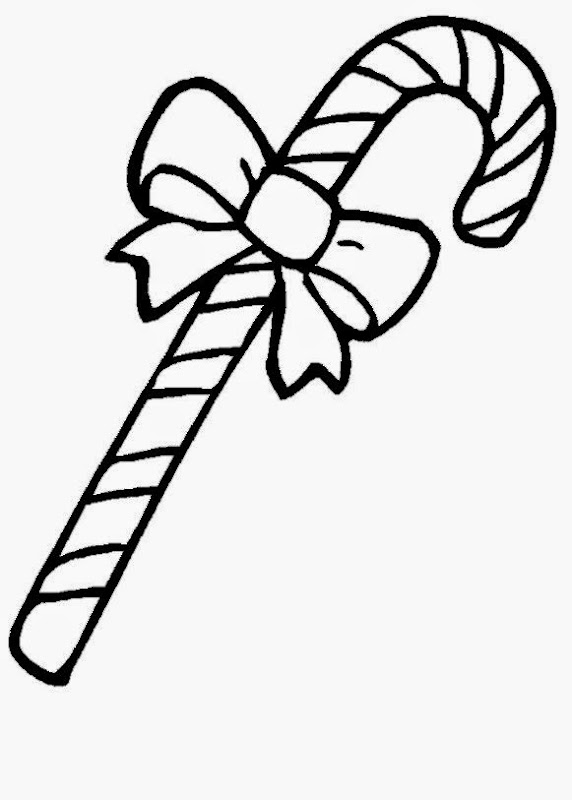 Candy cane coloring sheet free coloring sheet for Coloring page candy cane