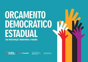 Orçamento Democrático Estadual (ODE) sua participação transforma a Paraíba