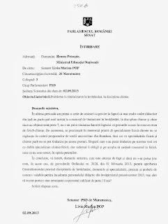 Intrebare catre MEN - probleme la titularizare disciplina chimie