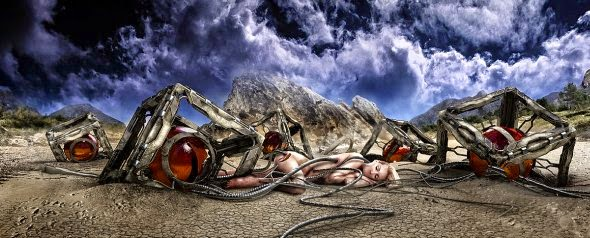 Heiko Klug ilustrações foto manipulações photoshop surreal sombrio
