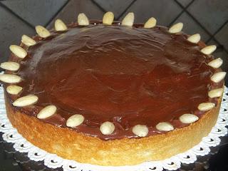 ... crostata olandese al cioccolato del nanni con il bimby ...