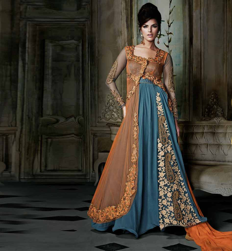 Nagpur24 the city within stylish anarkali dresses to for Floor length suits