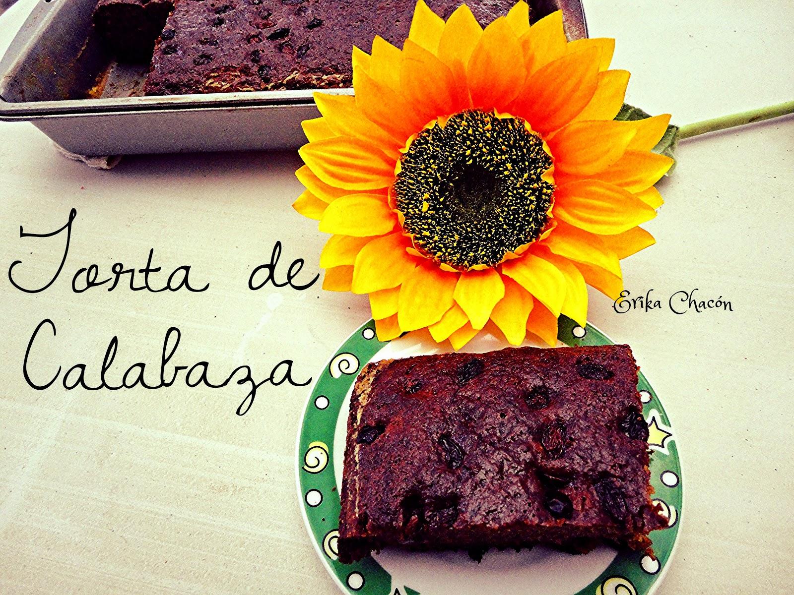 Reciclando con Erika : Torta de Calabaza / Ayote