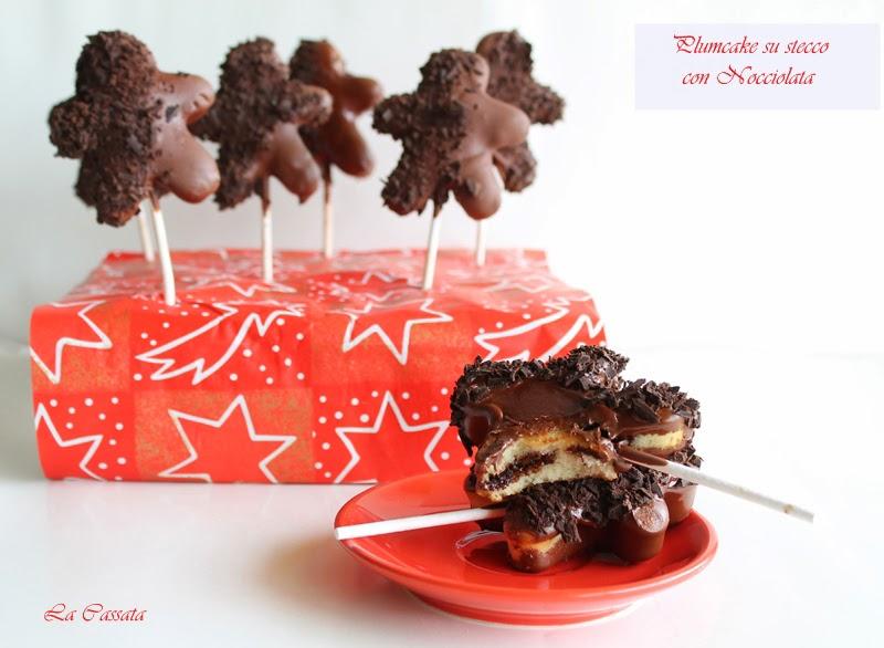 plumcake su stecco con nocciolata