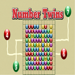 Math Game: Number Twins