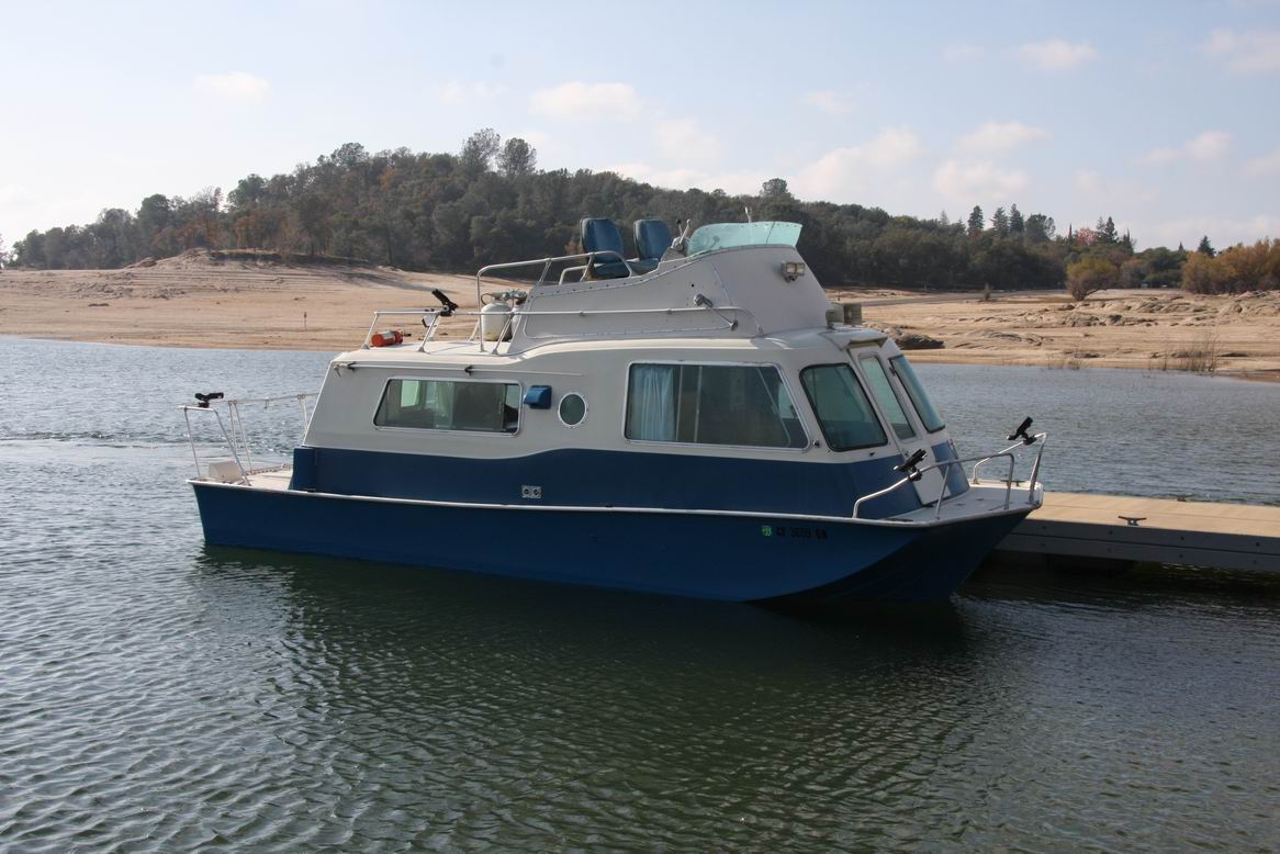 Trailerable house boat plans