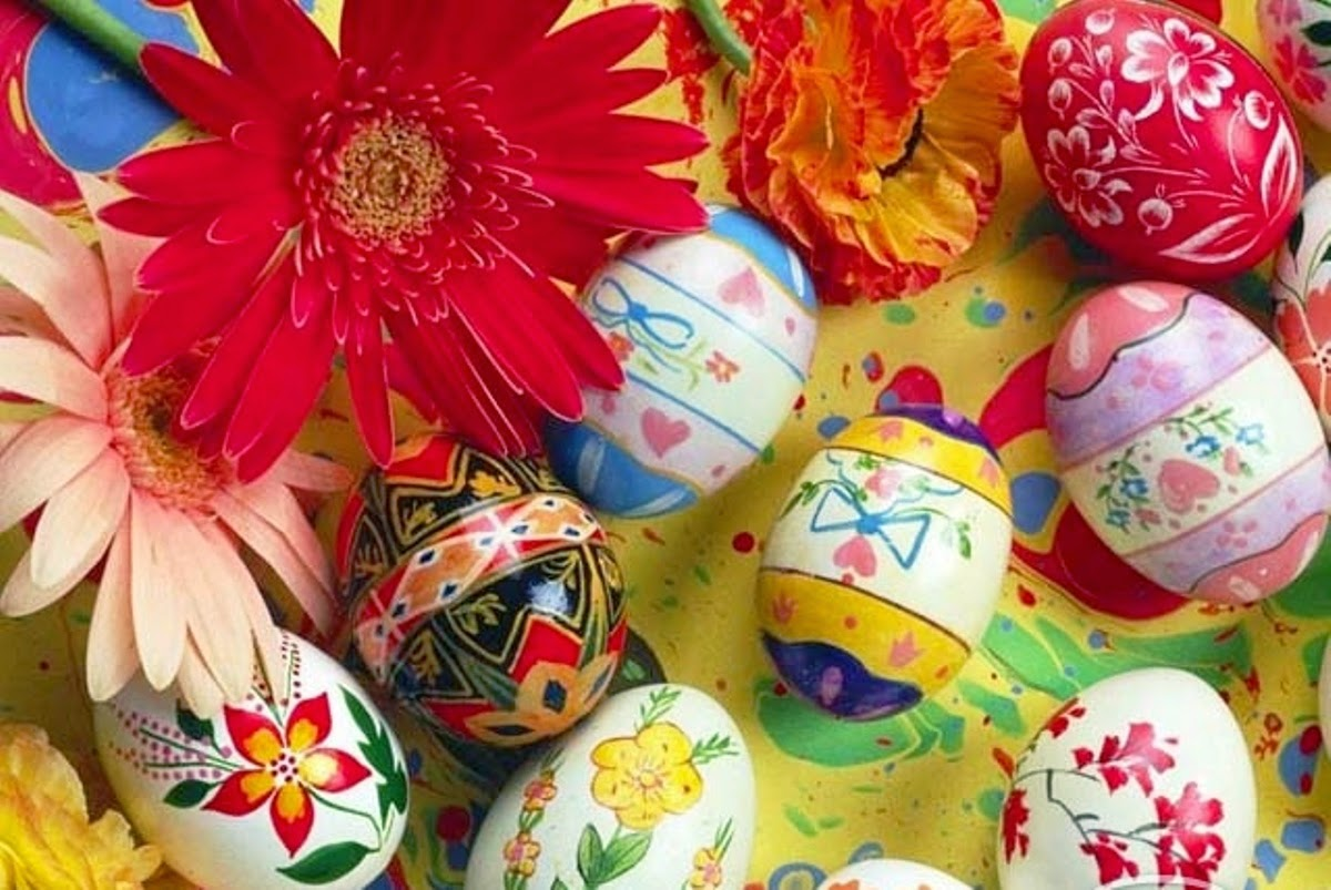 Celebrate Rebirth And Spring With Easter Flowers Happy Easter