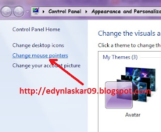 Cara Mengganti Pointer Mouse di Windows 7