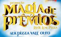 Promoção Magia de Prêmios Rede Leve Pizza