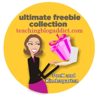 Prek and Kindergarten Free Download - Teacher Celebration on Teaching Blog Addict