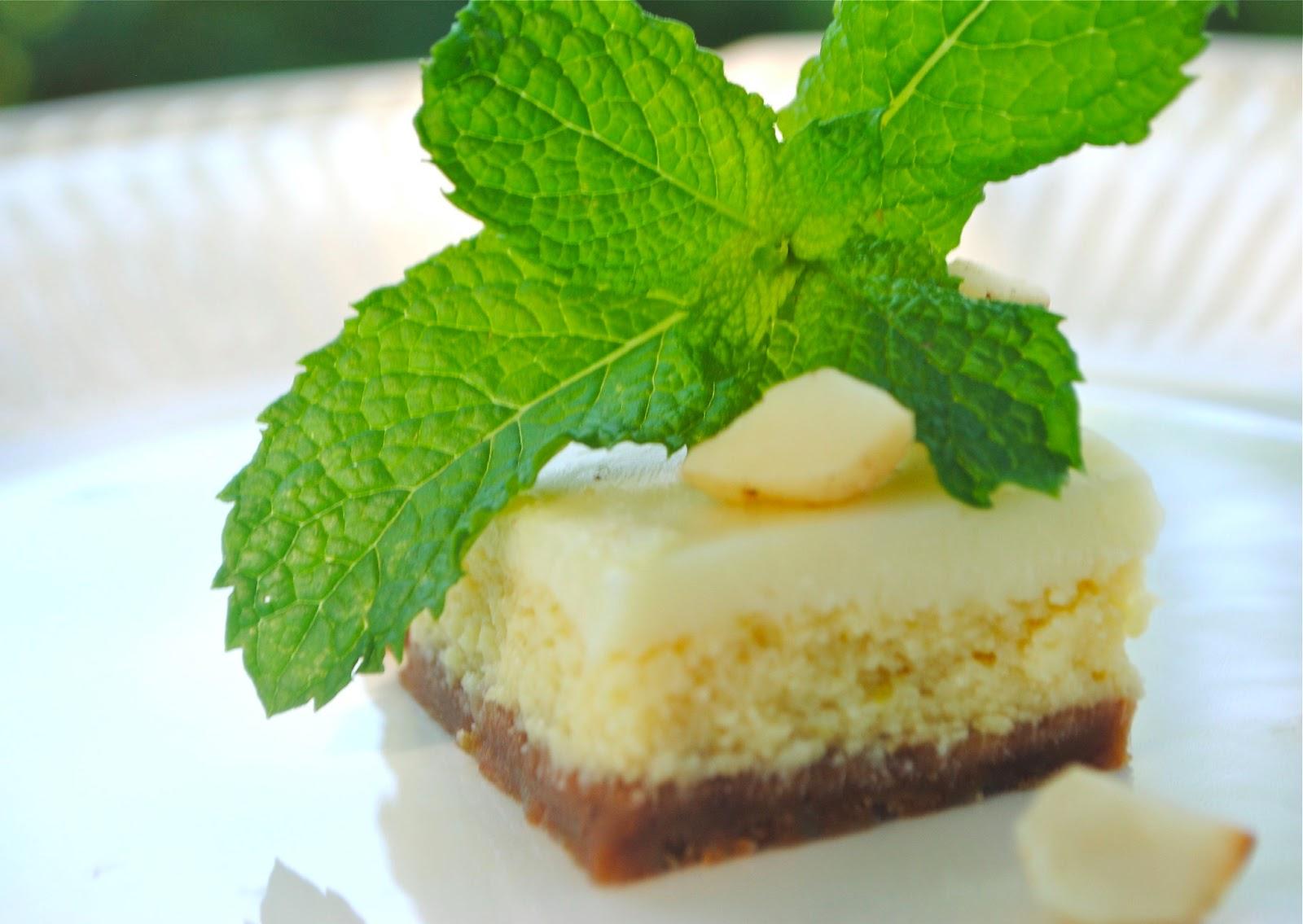 Recipe Doodle: WHITE CHOCOLATE KEY LIME BARS