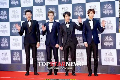 CNBlue KBS Gayo 2014