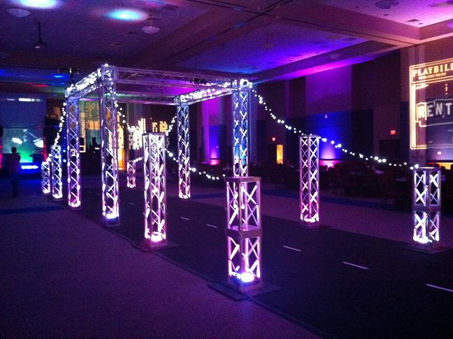 Over The Top Prom Decor