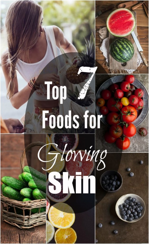 7 Foods For Glowing Skin