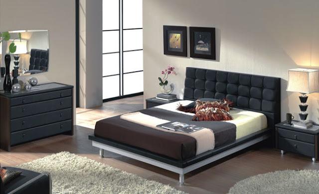 Couleur mur pour chambre avec meubles sombres id es d co - Couleurs des murs pour chambre ...