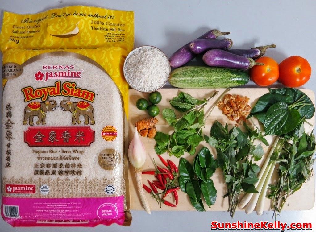 ... Nasi Ulam Nyonya (Nyonya Herbs Rice) Recipe for House Warming
