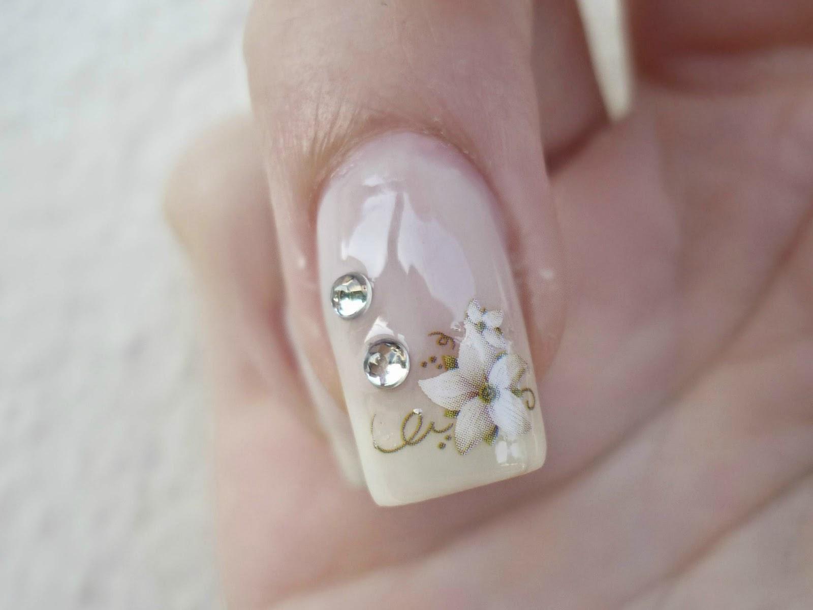 Célèbre Nail art by Rachele e non solo: Unghie con fiori decalcomanie  HW61